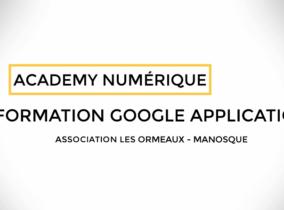 Comment entamer sa transition numérique avec les Formations Google Apps / G Suite