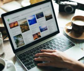 Site web de tourisme