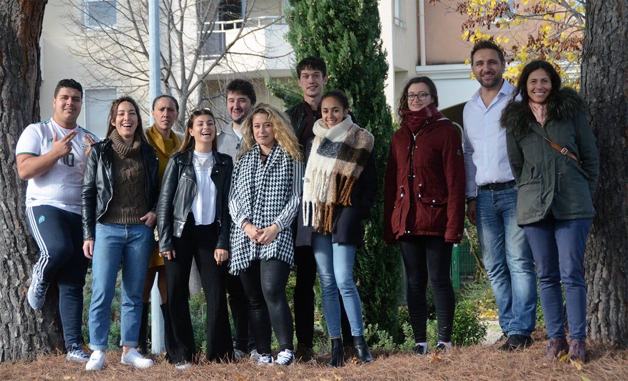 Formation e-Commerce Web et Mobile à Aix en Provence - Photo de groupe
