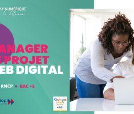 mastere manager de projet web digital en alternance