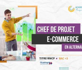 CHEF DE PROJET E-COMMERCE EN ALTERNANCE