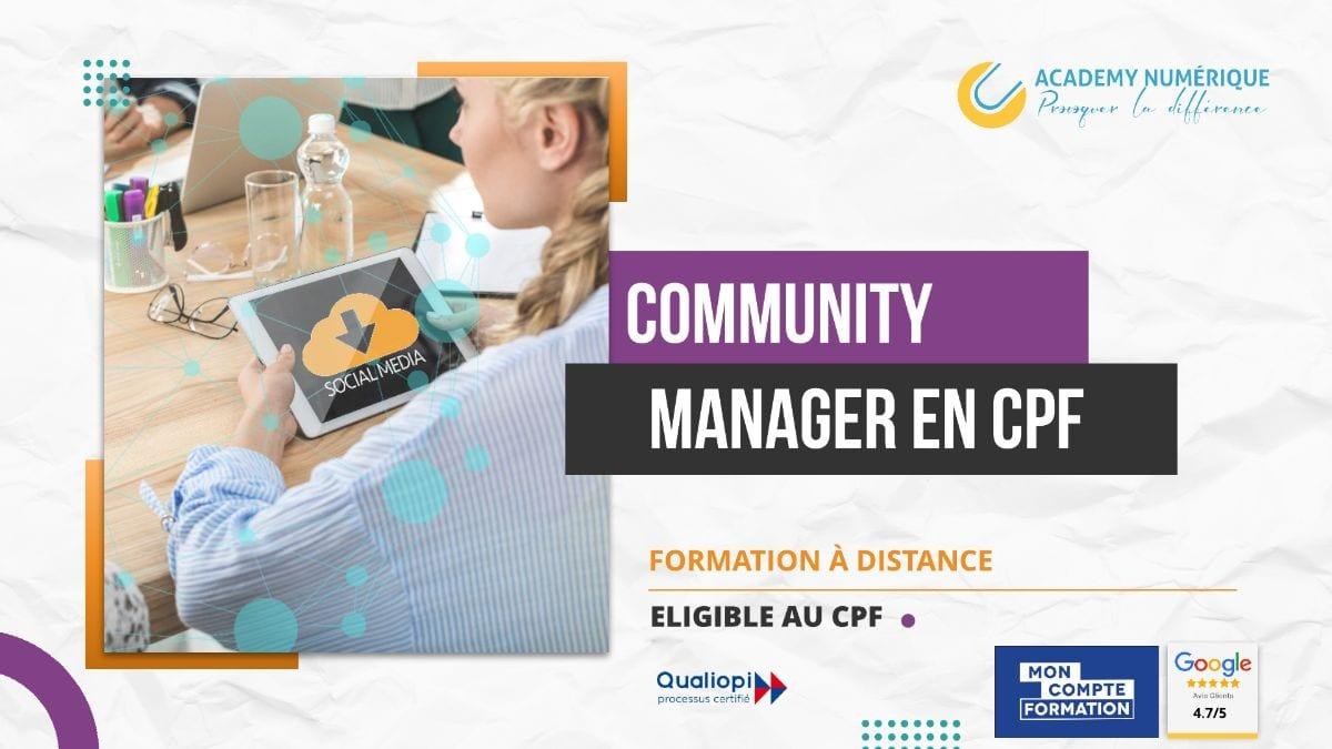 FORMATION COMMUNITY MANAGER – RÉDACTEUR WEB ET MULTIMÉDIA ELIGIBLE CPF