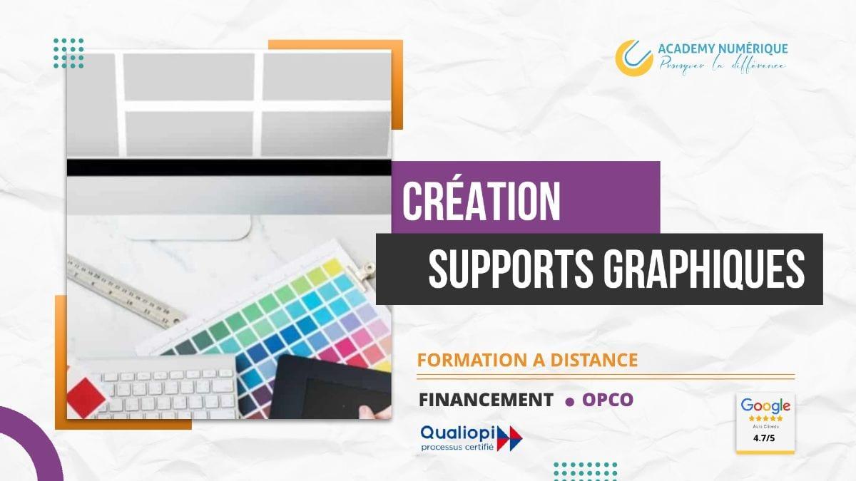 CRÉATION DE SUPPORTS GRAPHIQUES