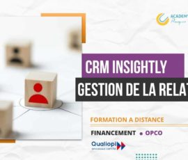 CRM INSIGHTLY GESTION DE LA RELATION CLIENT