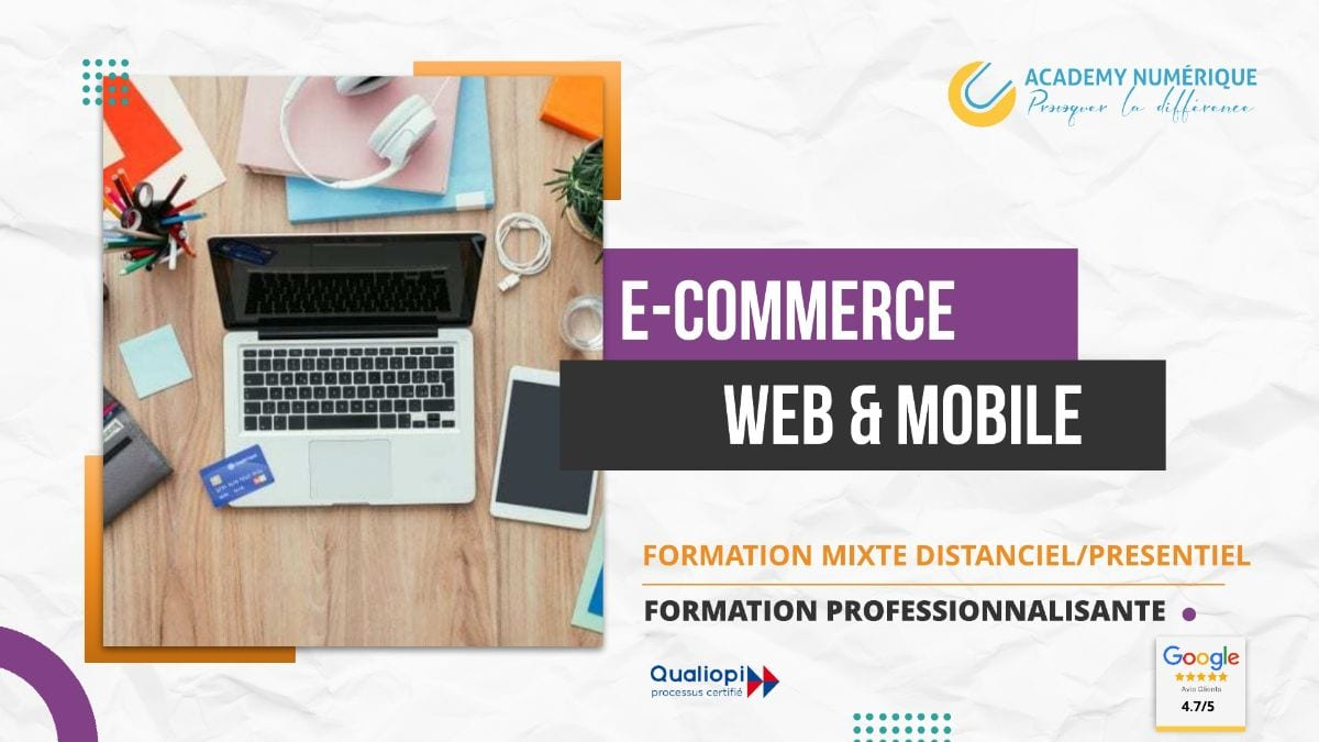 E-COMMERCE ET COMMERCIALISATION EN LIGNE WEB & MOBILE