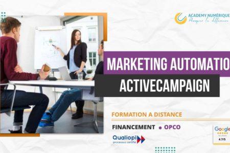 MARKETING AUTOMATION AVEC ACTIVECAMPAIGN