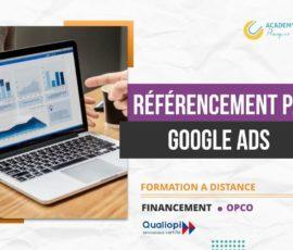 RÉFÉRENCEMENT PAYANT – GOOGLE ADS