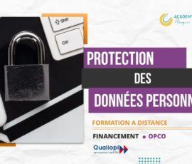 RGPD – PROTECTION DES DONNÉES PERSONNELLES