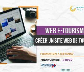 WEB E-TOURISME CRÉER UN SITE WEB DE TOURISME