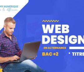 formation web designer en alternance