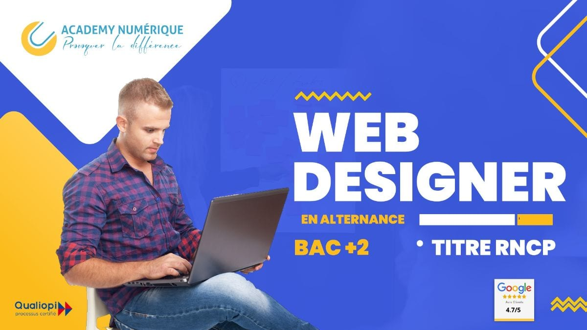 TITRE PROFESSIONNEL DESIGNER WEB